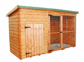 Albany Shed Company Laughton Kennel + Run