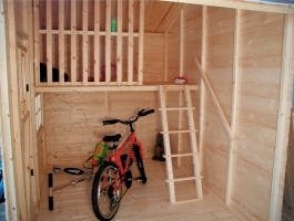 Albany Shed Company Ashcroft Two Storey Playhouse