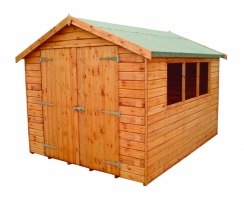 Albany Shed Company Warwick 15mm Double Door Apex
