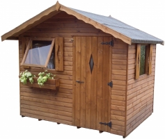 Shed Experts Swiss Chalet