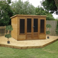 Shed Experts 15MM Modern Pent